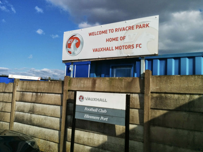 Vauxhall Motors vs Workington