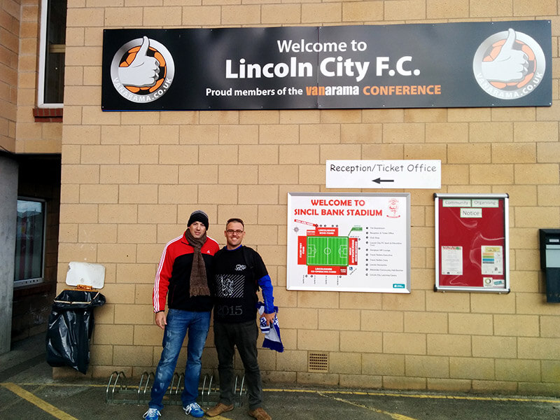 Lincoln City vs Welling United